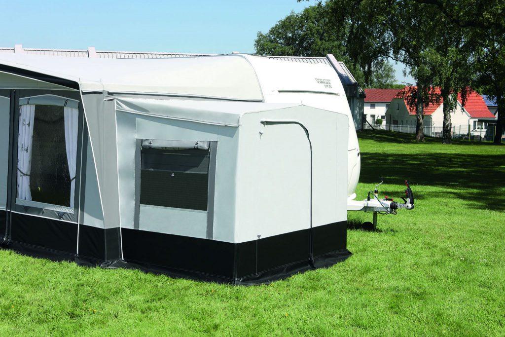 Caravan voortent Arcade met standaard aluminium frame met